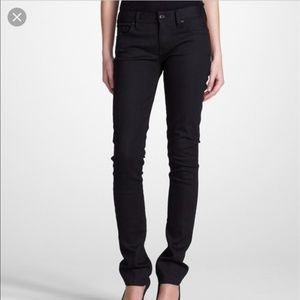 Tory Burch | Black Supper Skinny Jeans
